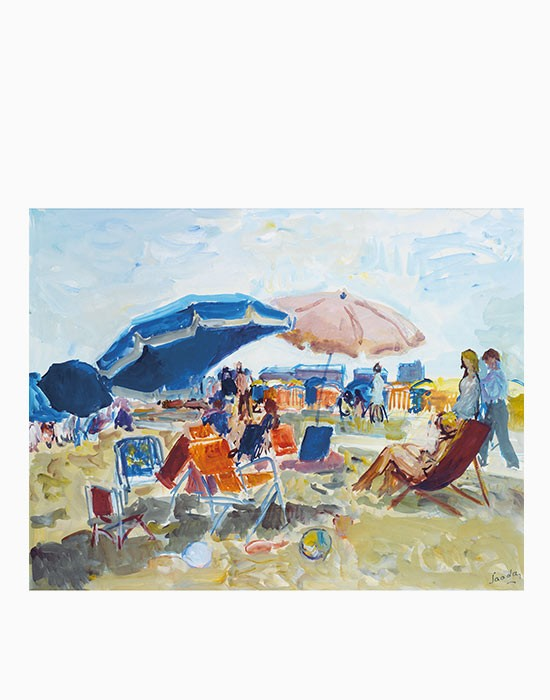 The sunshades, Trouville