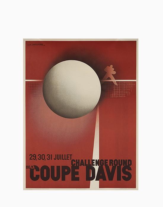 Affiche Coupe Davis