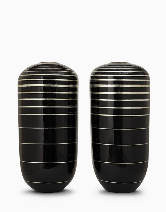 Pair of ovoid vases